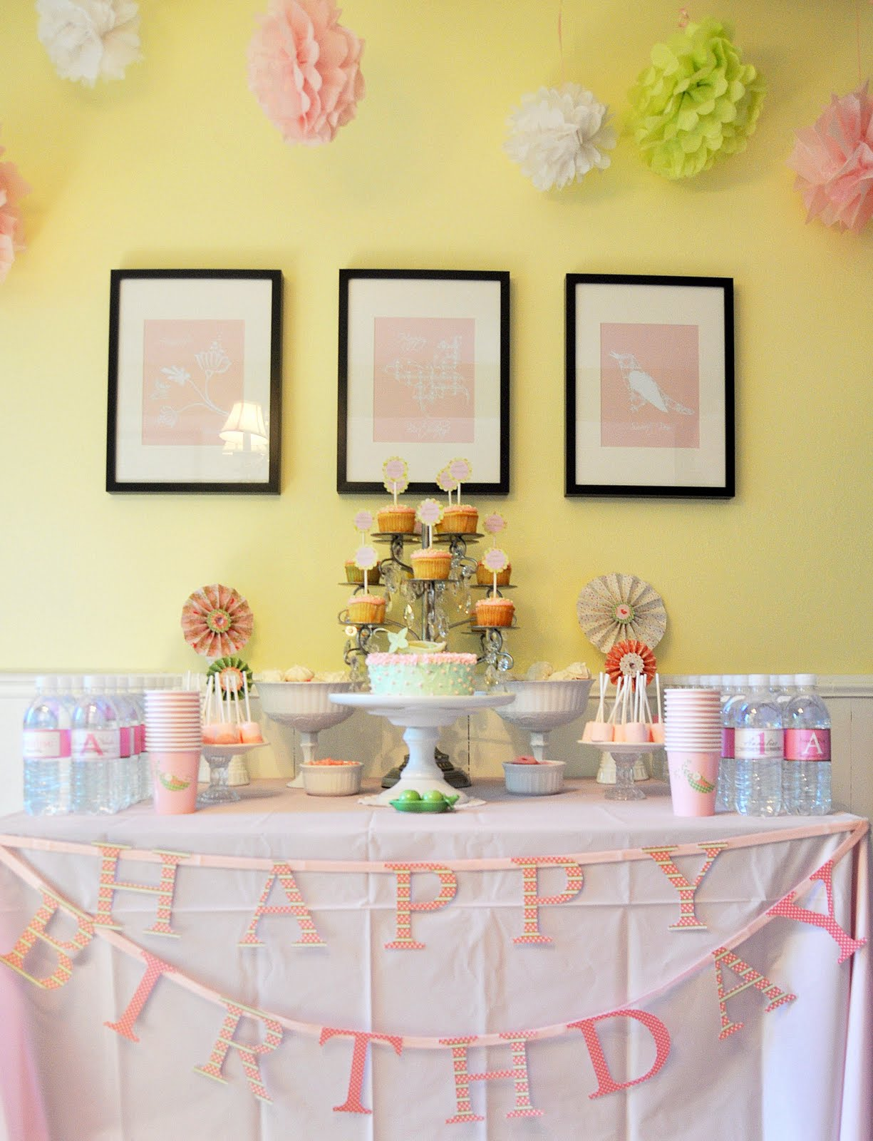 BLAH BLAH BLOGGING: Sweet Pea Birthday Party