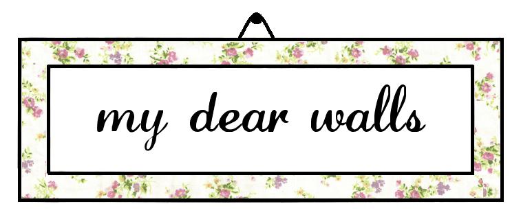 My Dear Walls