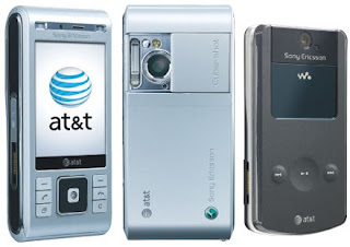 Sony Ericsson's AT&T C905a & 518a Mobile Phones