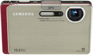 Samsung GPS Digital Camera CL65