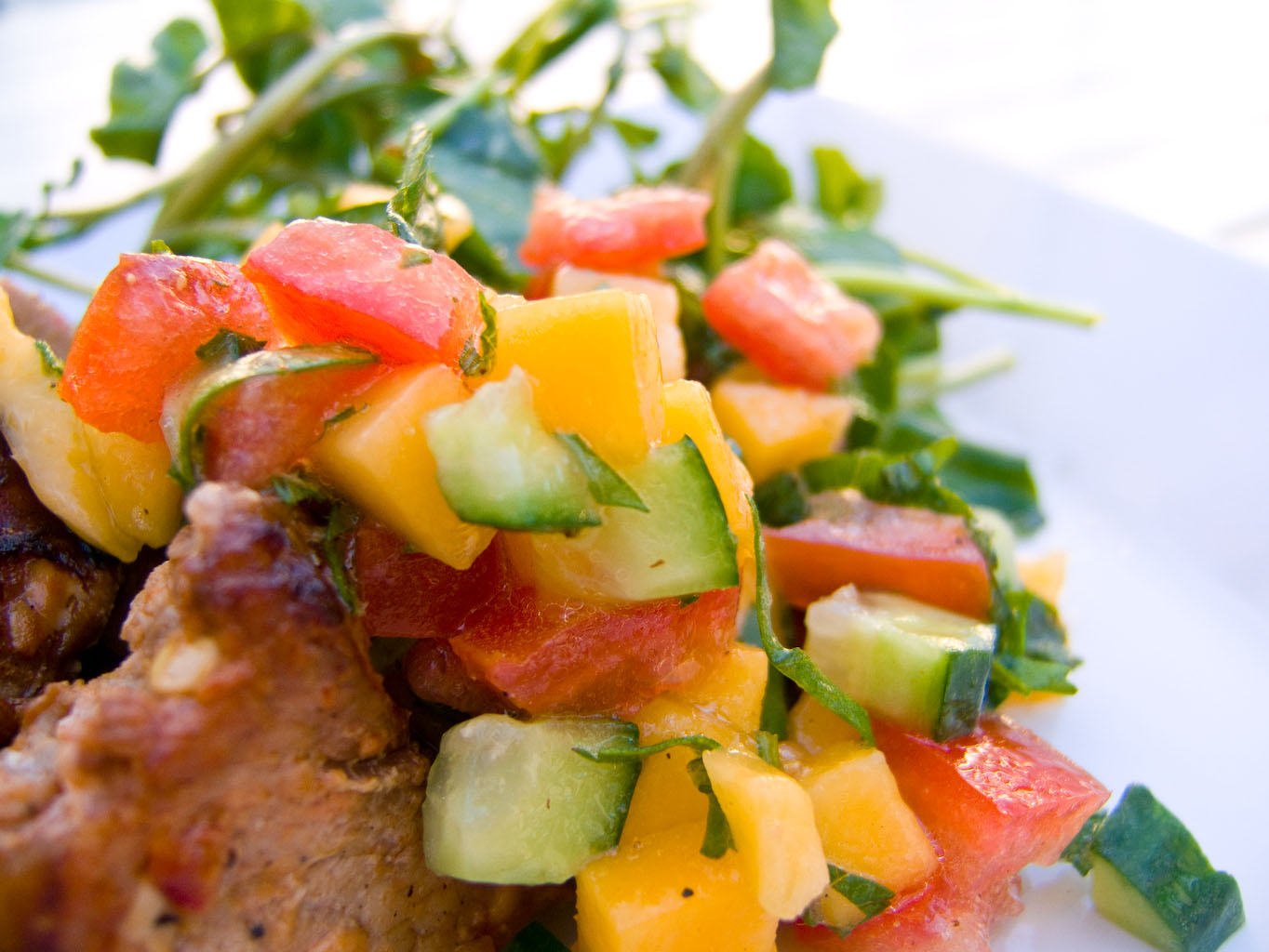 Balsamic Mango Salsa Recipes — Dishmaps