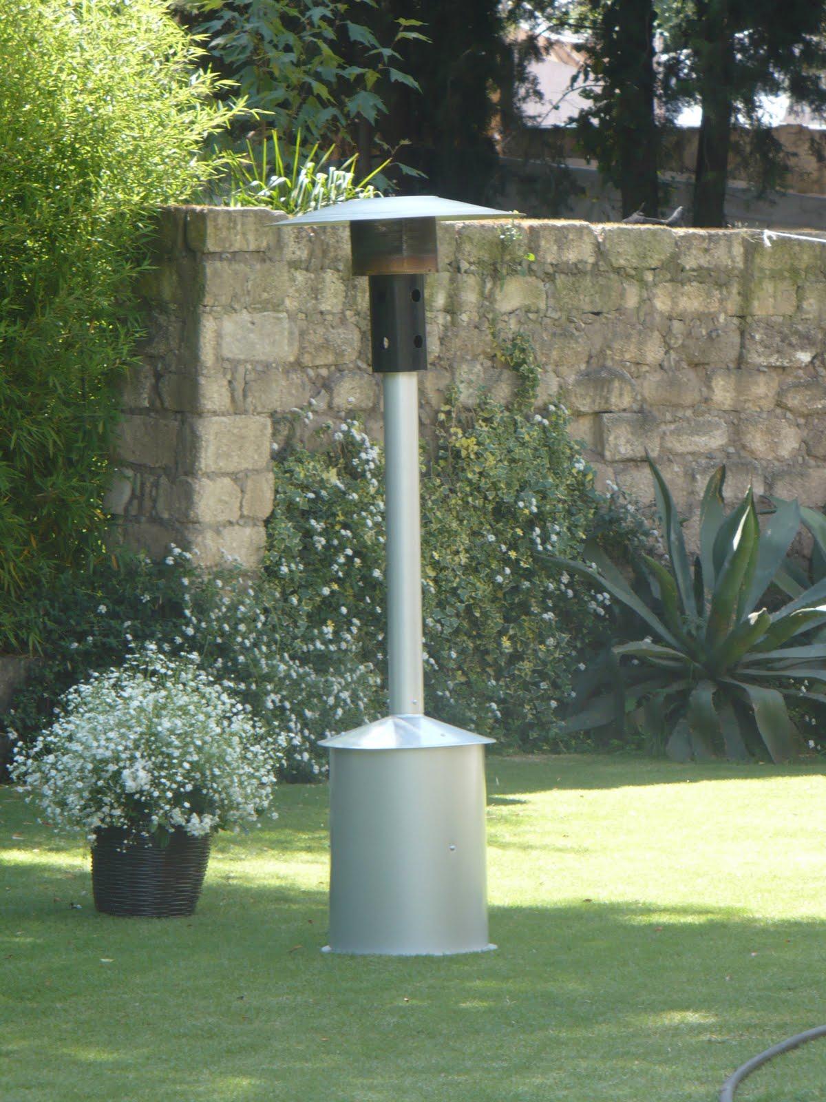 Grupo maga a calentador ambiental tipo hongo for Calentadores para jardin tipo hongo