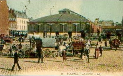La place du marché en 1911