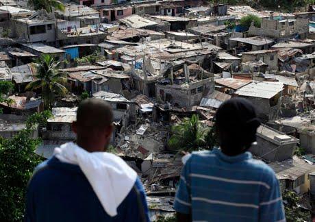 Port au Prince après le séisme