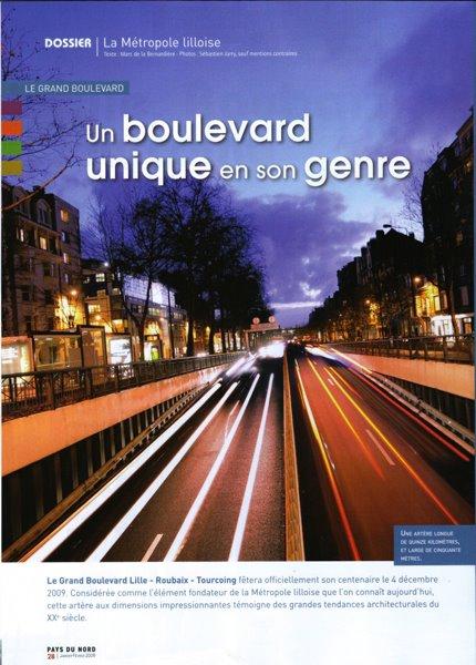 Le Grand Boulevard dans Pays du Nord de janvier 2009