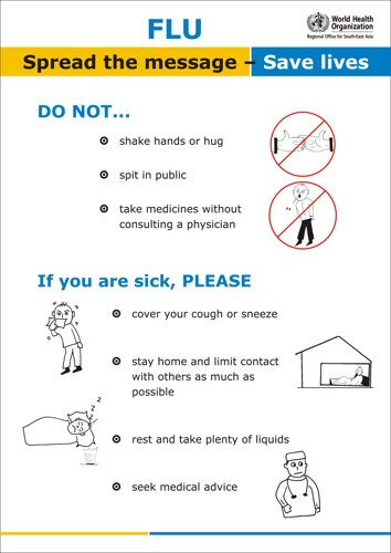 Flu Do not