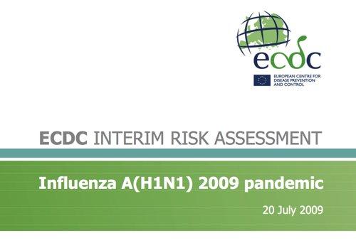 Une étude (en anglais) sur le risque pandémique
