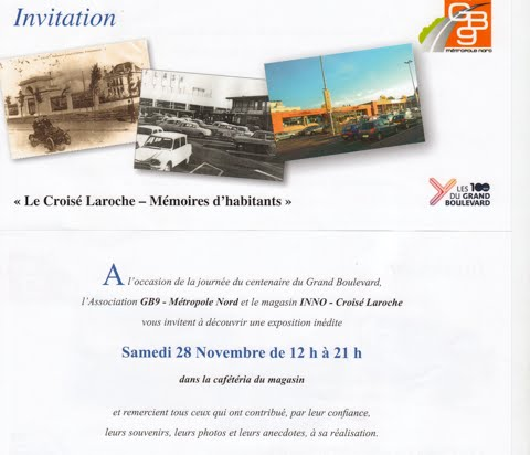 GB9 vous invite à une expo le 28 novembre