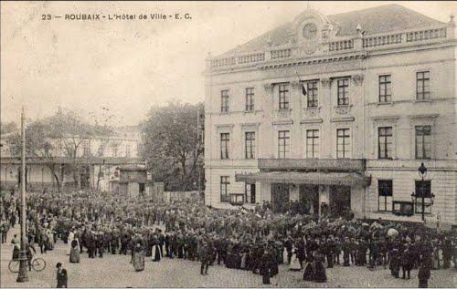 L'ancien Hôtel de ville de Roubaix