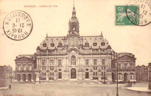 L'Hôtel de ville de Roubaix