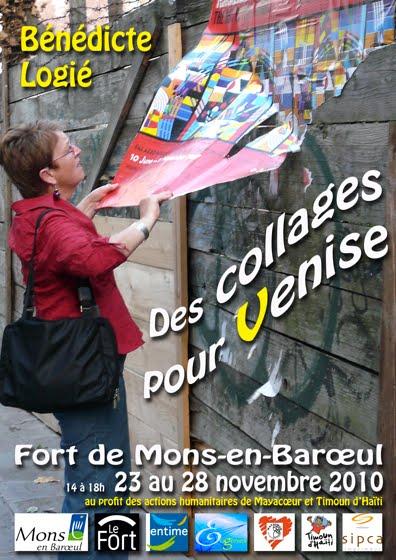 Exposition de Bénédicte Logié du 23 au 28 novembre à la Maison Folie de Mons-en-Barœul