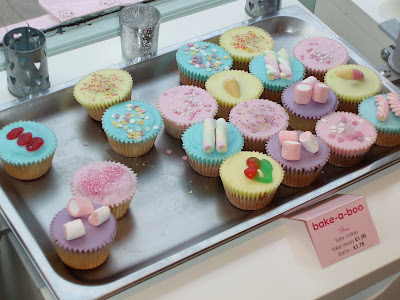 Bake-a-Boo West Hampstead fondant cupcakes
