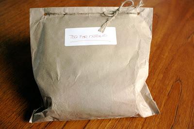 Present tea parcel