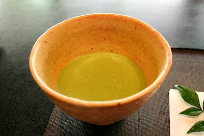 Kanazawa bowl of matcha