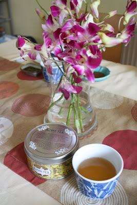 Kusmi Tea Jasmine flowers