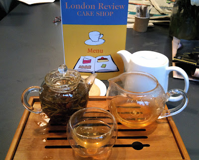 London Review Cake Shop tea