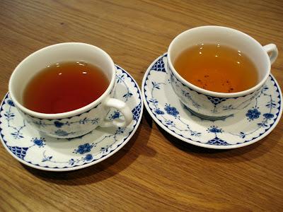 Postcard Teas Bond Street cups of tea