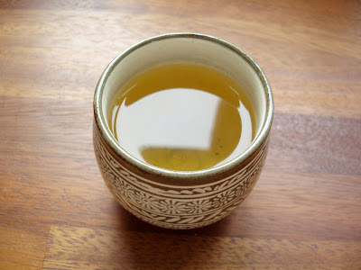 Postcard Teas Laoshan green tea Japanese cup