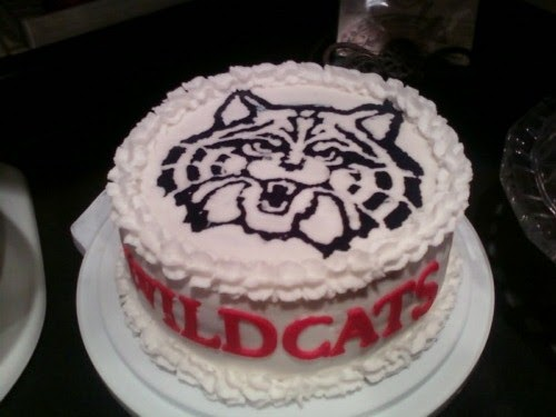 Cake Decorating Classes Az : Simply Cakes  N More: Arizona Wildcats!