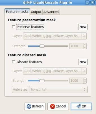 GIMP Liquid Rescale Plug-in