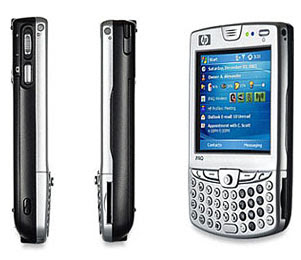 HP iPAQ 6965, Windows Mobile 5.0, QWERTY, WiFI Plus GPS