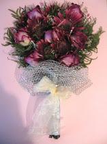 Rosas y Gerberas