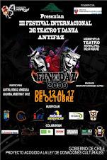 Este espectáculo participó del III Festival Internacional FINTDAZ - Chile 2009
