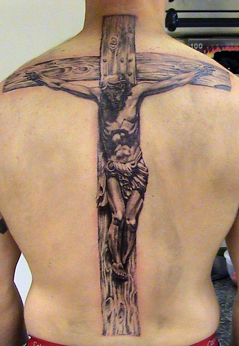 However, cross tattoos are not only a sign of religious faith.