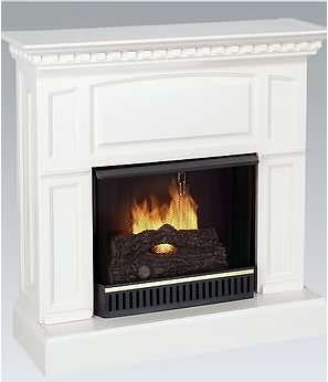 Loving living small live small with style clever for Small fake fireplace