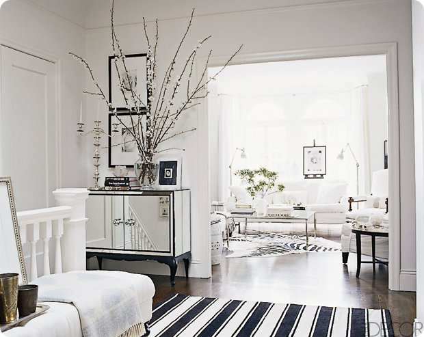 Yes This Gorgeous Home Of William Sonoma Homes VP Design Is Definitely Well My Entire Dream House File I Am Loving The Black And White Contrast