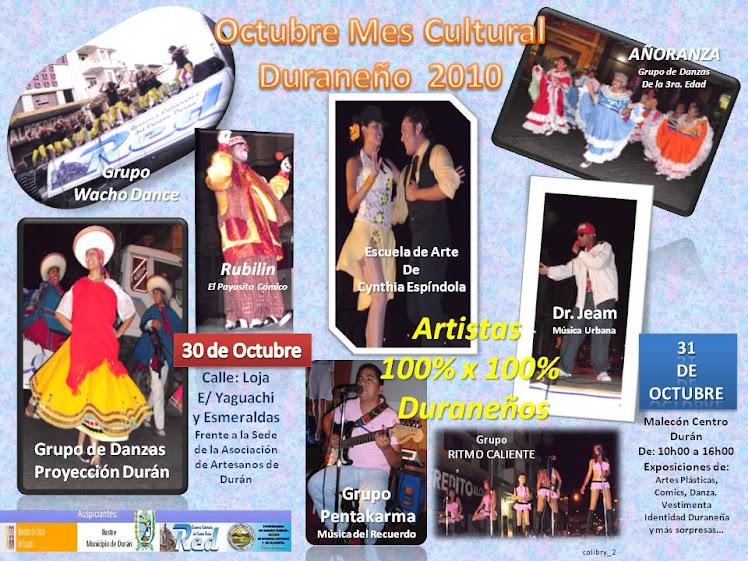 Festival de Cierre de la Cultura Duraneña