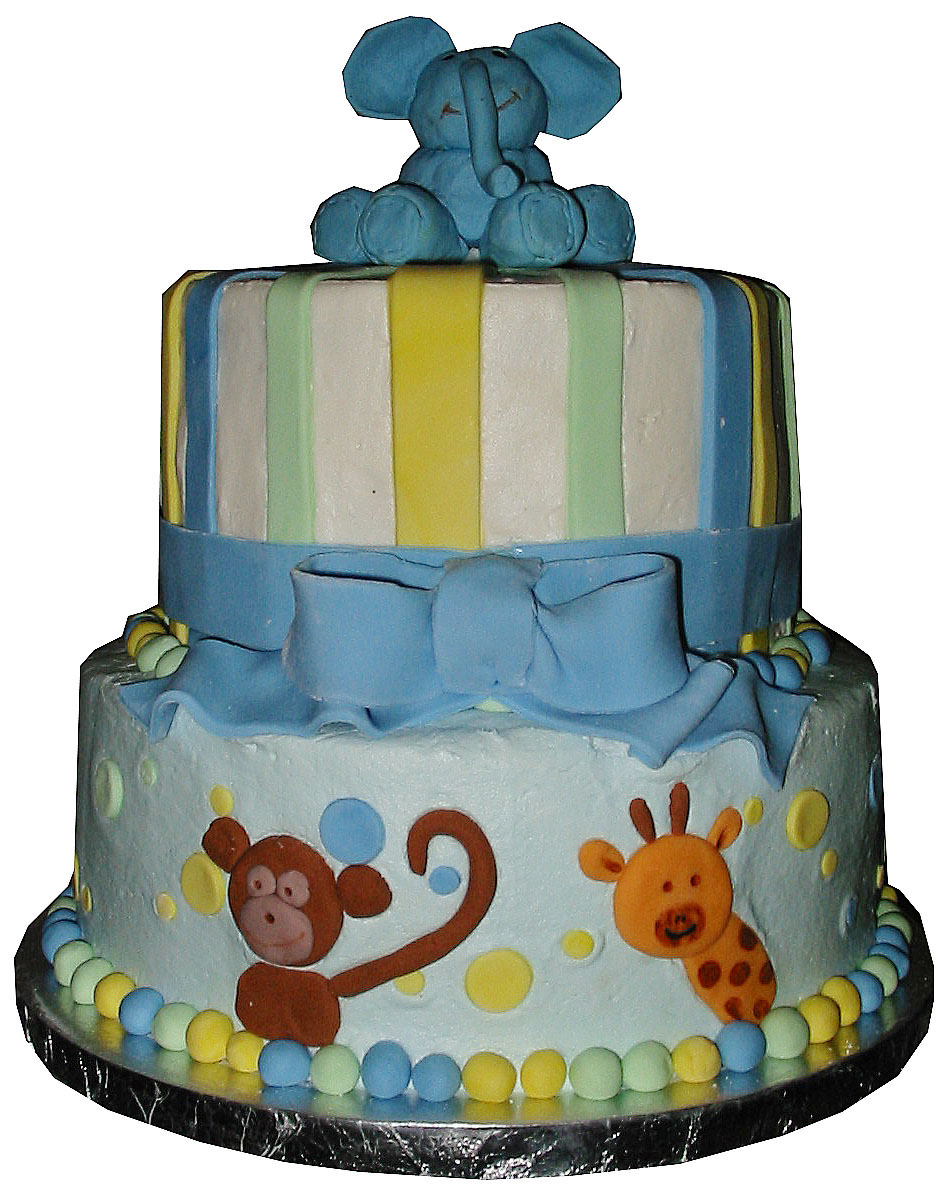 sugar mama 39 s bakery animal baby shower cake