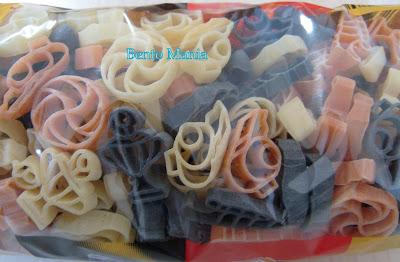Bentuk pasta