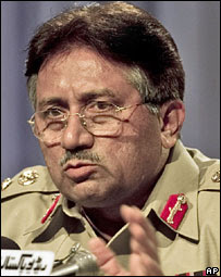Musharraf appoints army successor