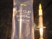 Jeringuilla art clay   Usar la jeringuilla