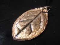 colgante de hoja   Colgante de hoja