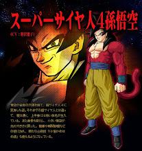 Goku Super Saiajin 4