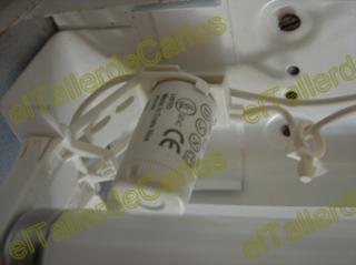 Eltallerdecarlos reparar fluorescente cambiar cebador de - Tubo fluorescente redondo ...