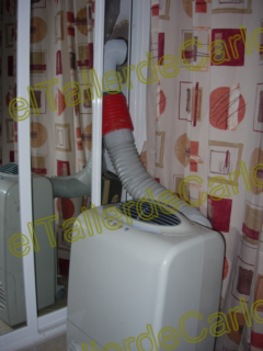Eltallerdecarlos salida para aire acondicionado port til for Salida aire acondicionado