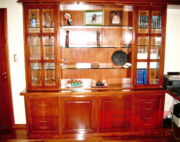 Fv carpinter a modulares for Modulares para comedor de madera