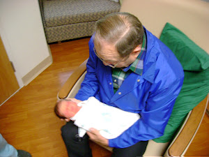 Matthew and Grandpa Loyd