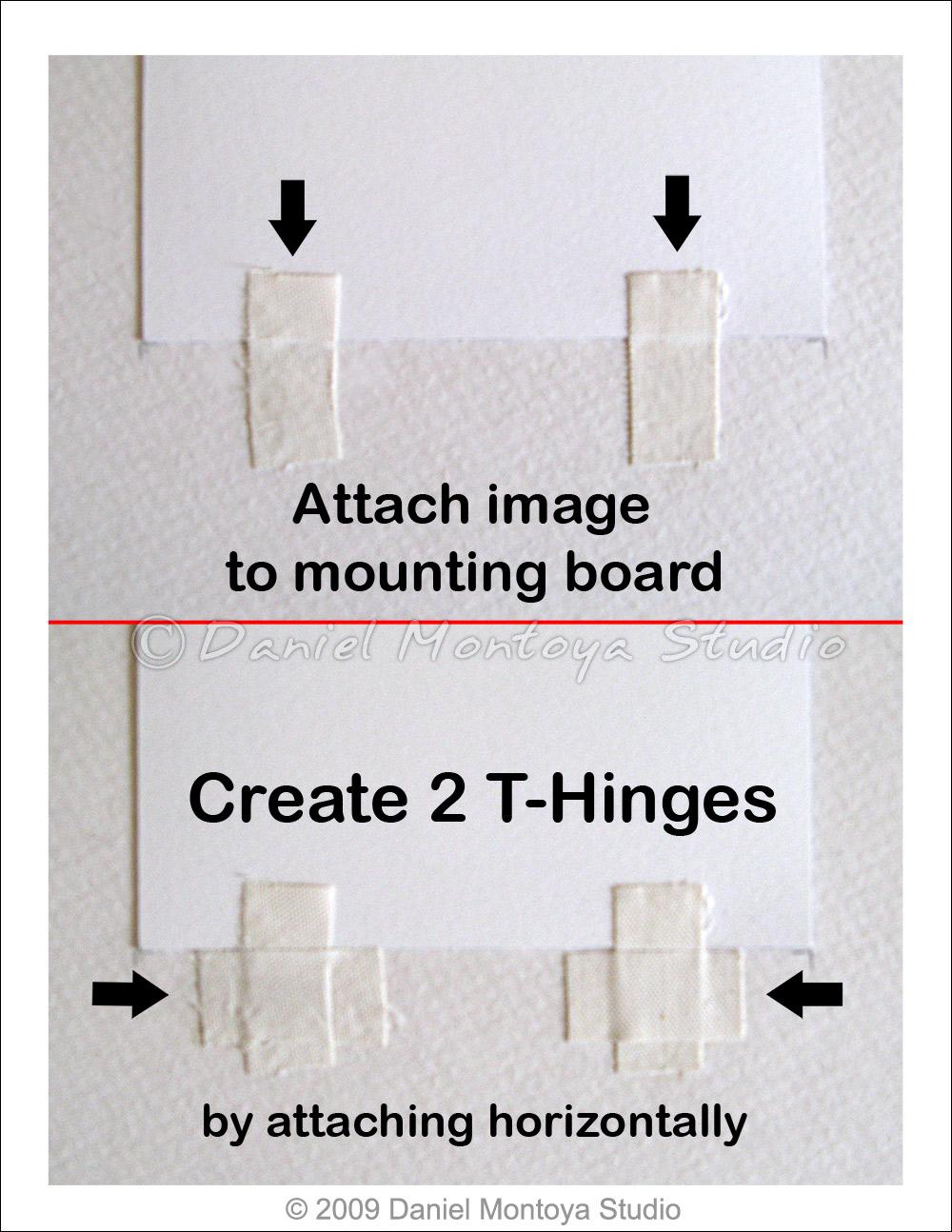 Daniel Montoya Studio: DIY Tutorial for framing works on paper using ...