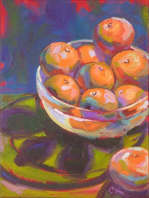Connie Kleinjans Fauvist still life