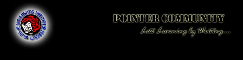 Wellcome to Pointer's Blog