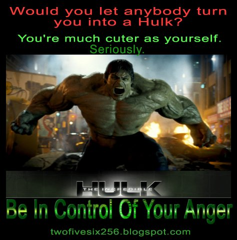 My ConScIeNcE: The Hulk In You: How Bad Can You Become?