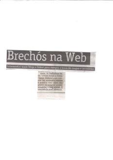 naffitalina's bazar no jornal o dia