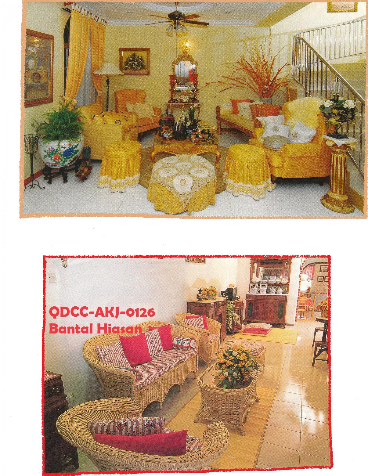 & Craft Design - BY GALERI AINA : ANEKA BANTAL HIASAN (CONTOH 1