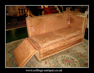 antique knole settee