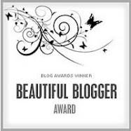 My Beautiful Blogger Award