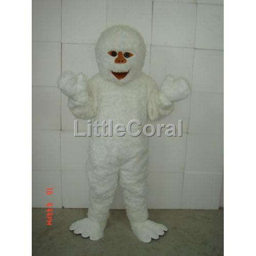 ... Halloween Fursuit Fancy Dress Adult Costume Monster Yeti Snowman